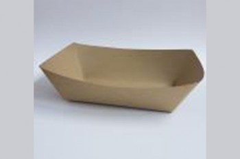 Charola de cartón Eco Kraft 18x9