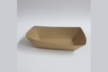 Charola de cartón Eco Kraft 13x9