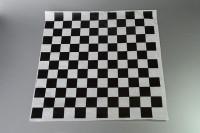 Hojas de papel cuadriculado negro
