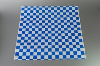 Hojas de papel cuadriculado azul