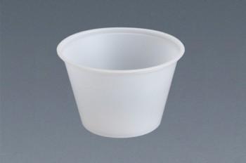 Souffle de plástico natural (4 oz.)