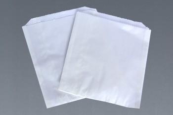Bolsa blanca de papel encerada