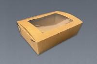 Caja Champak con ventana, KRAFT