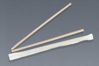 Popote biodegradable, estuchado, 26 cm.