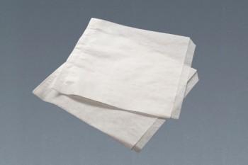 Bolsita de papel abierta, blanca