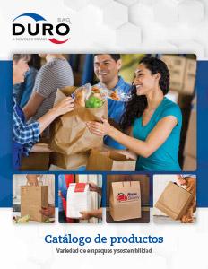 Catálogo Bolsas Durobag